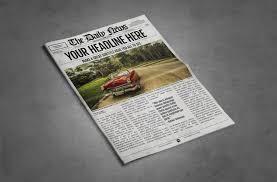 11x17 Newspaper Template 2x1 Page Newspaper Template Adobe Indesign 8 5x11 11x17 Inch