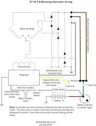 electrical 2g alternator wiring mustang forums at stangnet alternator wire diagram Alternator Wire Diagram #43
