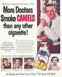 appealing to authority how tobacco advertising parallels modern  camels doctors choice 1