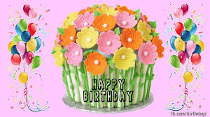 Happy Birthday Gif Cake Images Gif