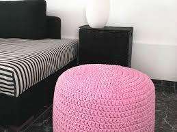 Light Pink Pouf