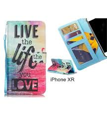 At Case Leather 3 Printed Online Iphone Id Card Xr Buy Wallet UxaS1Fwq