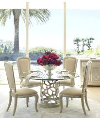 outstanding glass kitchen table after eight pearl round shaped glass top dining table set round glass