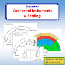 Orchestral Instruments Seating Chart
