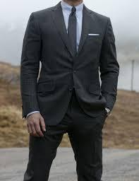 Light Grey Pinstripe Suit Combinations Sf James Bond Grey Suit Daniel Craig Charcoal Suit