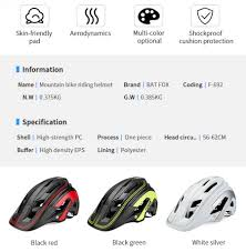 <b>BATFOX Cycling Helmet</b> Women Men <b>Bicycle Helmet</b> MTB Bike ...
