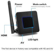 Thiết Bị HDMI Không Dây Kết Nối Điện Thoại Với TV Q4 Hỗ Trợ Kết Nối AV  AZONE - Cáp HDMI - Displayport Hãng OEM