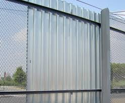 sheet metal fence. Delighful Fence Corrugated Fence Panel Metal Panels Design  Plastic And Sheet Metal Fence