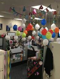 birthday office decorations. cubicle birthday decoration office decorations