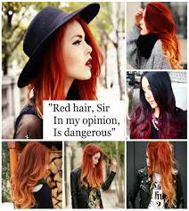 Red Hair Sir In My Opinion