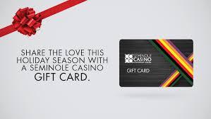 seminole gift card
