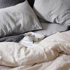 blush linen duvet cover. Wonderful Cover Linen Duvet Cover In Blush Pillowcases And Sheet Smoke Grey From  CULTIVER In Blush Duvet Cover 1