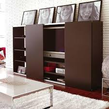 modern furniture small apartments. Living Room Furniture With Sliding Front Panels. Modern For Small Apartments
