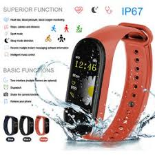 M4 Bluetooth Smart Sport Bracelet Watch Heart Rate Monitor ... - Vova