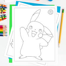 Free printable pokemon coloring pages | these cute pokemon color by number worksheets feature pikachu, bulbasaur and charmander. 100 Best Free Printable Pokemon Coloring Pages Kids Activities Blog