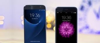 samsung galaxy s7 phone. samsung galaxy s7 vs. apple iphone 6s: sixes and sevens phone