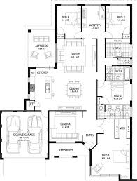 4 bedroom house plans australia ideas large size