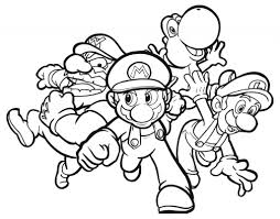 Coloring Pages Amazing Superario Coloring Pages Free Printable For