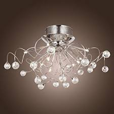 bedroom chandelier lighting. lightinthebox modern crystal chandelier with 11 lights chrom flush mount chandeliers ceiling light fixture bedroom lighting i
