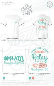 Relay For Life Shirt Designs Phi Mu Alpha Tau Omega Ato Relay For Life
