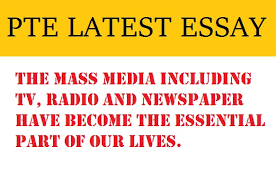 pte latest essay mass media including tv radio newspaper  pte latest essay mass media including tv radio newspaper