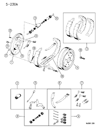 1996 dodge ram 1500 brakes rear diagram 00000eey