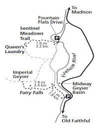 """Résultat de recherche d'images pour """"fairy trail yellowstone map"""""""