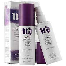 ud all nighter makeup setting spray long lasting 4oz 100 authentic u d