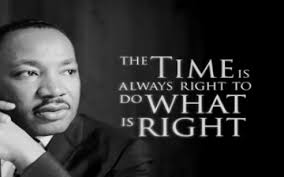 Famous Martin Luther King Quotes Beauteous Never Never Be Afraid To Do What's Right Especially If The Well