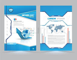 word front page template word frontpage templates pany profile cover design templates