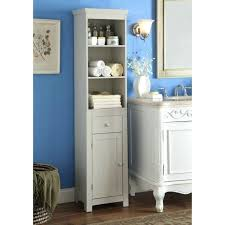 bathroom storage tower gray free standing bathroom linen storage tower next to classic style vanity bathroom
