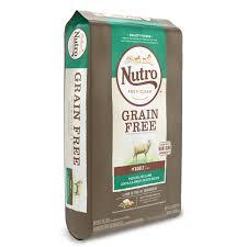 Nutro Grain Free Adult Pasture Fed Lamb Lentils And Sweet
