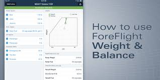 How To Calculate Weight And Balance In Foreflight Ipad