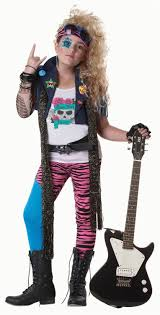 easy diy 80 s costumes 80 s glam punk rocker costume child 80s party