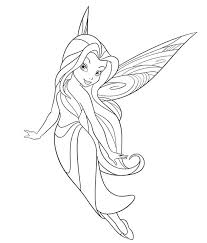 disney fairies coloring pages printable free colouring print and preview more silvermist