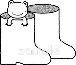 長靴イラストなら小学校幼稚園向け保育園向けのかわいい無料