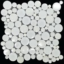 round glass tile mosaic round bubble mosaic tile glacier le glass jewel le glass mosaic tiles round glass tile