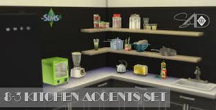 Kitchen Accents Ts2 To Ts4 8 3 Kitchen Accents Set Updated Sims 4 Designs