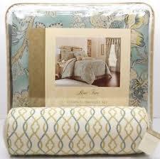 teal queen comforter. Image Is Loading ROSE-TREE-Odessa-QUEEN-COMFORTER-SET-5pc-PILLOW- Teal Queen Comforter E