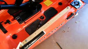diy kayak slide track adapters you jpg 1280x720 diy pvc kayak accessories