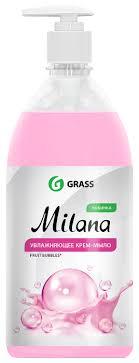 <b>Крем</b>-<b>мыло жидкое Grass Milana</b> Fruit Bubbles — купить по ...