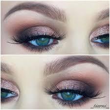step by step smokey eye tutorials metallic mauve eyeshadow with soft smokey step by