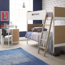 design of furniture bed. Simple Bunk Bed Oak White By Little Folks For Kids Shared Rooms Sleepovers Children Design Of Furniture
