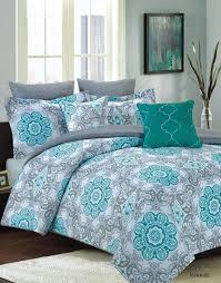 Intelligent Design Natalie 5 Piece Comforter Set Crest Home Sunrise King Size Bedding Comforter 7 Pc Bed Set