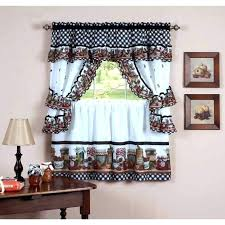 Kitchen Curtain Patterns Magnificent Gingham Kitchen Curtains Large Size Of Modern Short Curtain Styles