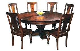 solid oak round dining table and chairs solid wood round table distressed wood round dining table