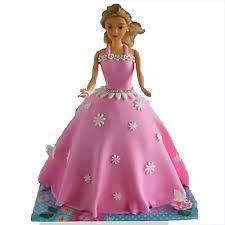 Just Wow Barbie Cake 2kg Chocolate