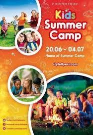 Kids Summer Camp Psd Flyer Template 18782 Styleflyers