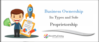 Business Ownership Types Business Ownership Its Types And Sole Proprietorship