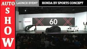 2018 honda ev. Delighful 2018 2018 Honda EV Sports Concept  Full Launch Event AUTO SHOW Intended Honda Ev U